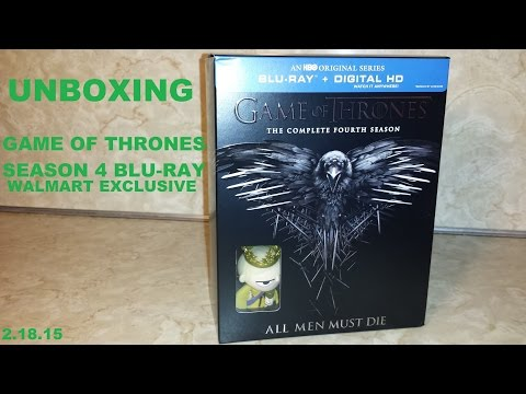 Unboxing - Game of Thrones Season 4...