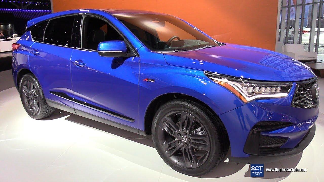 2019 Acura Rdx Exterior And Interior Walkaround Debut At 2018