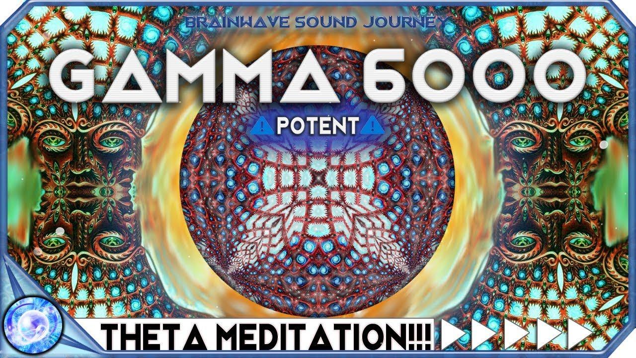 6000HZ | POWERFUL HIGHER MIND ACTIVATION - Hyper GAMMA Binaural Beats |  Theta Meditation | MUST TRY!