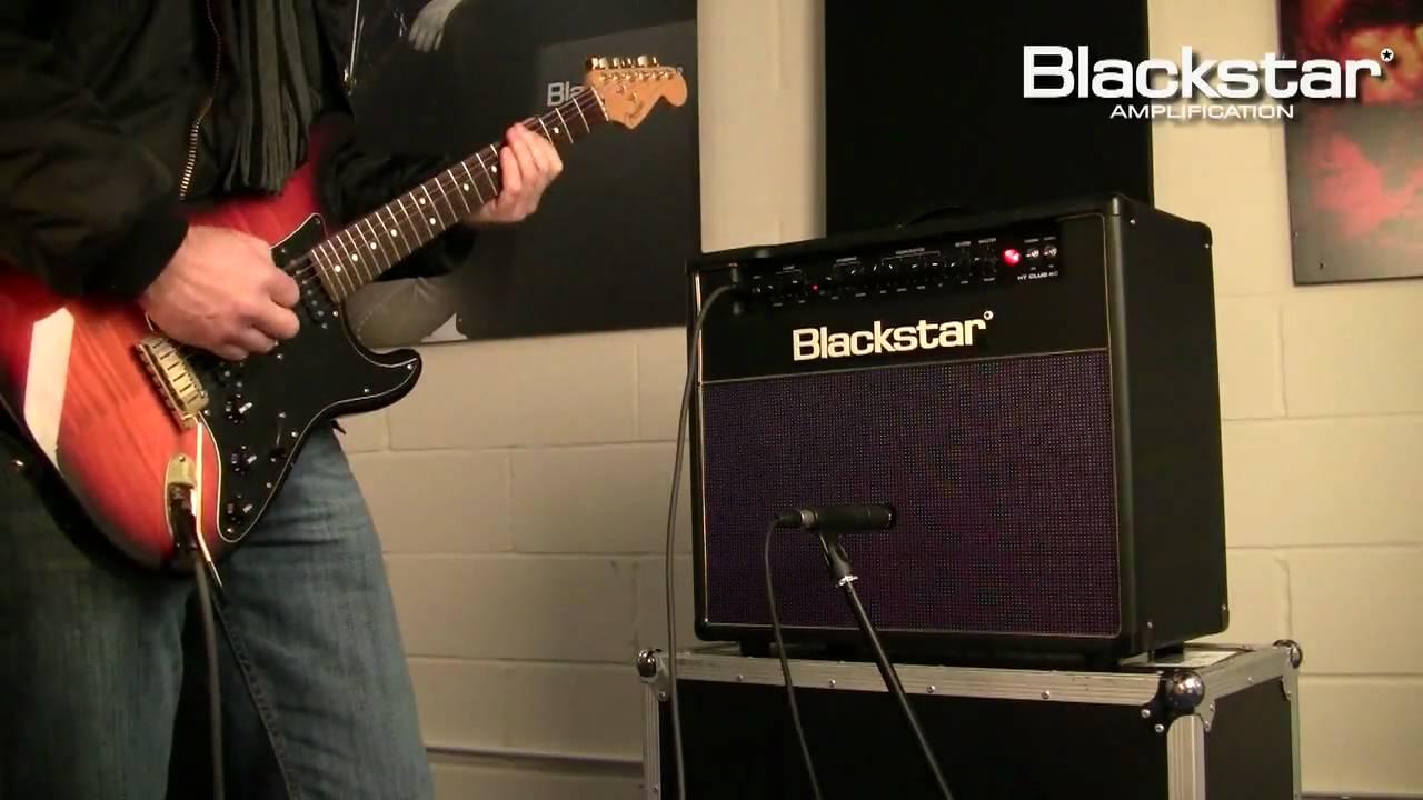 Venue Series HT Club 40 40W Tube Guitar Combo Amp Black