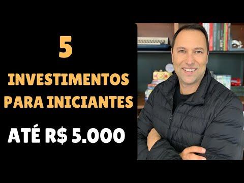 5 Investimentos Para Iniciantes  - Fundos Imobiliários, Ações, CDBs, NUconta ...