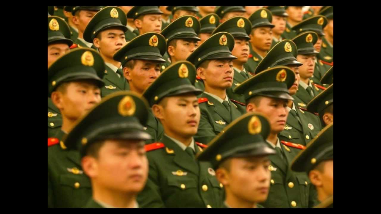 People's Liberation Army march 人民解放军进行曲 1080pHD - YouTube