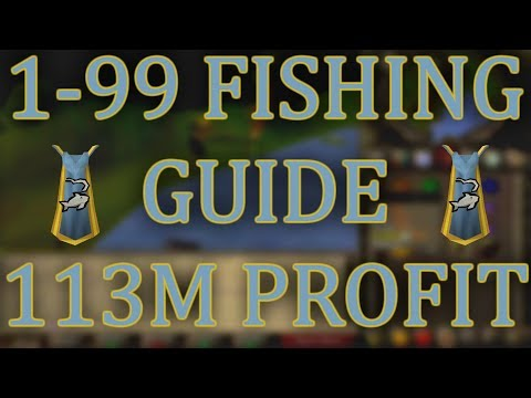 ULTIMATE OSRS 1-99 Fishing Guide With INSANE 113m PROFIT