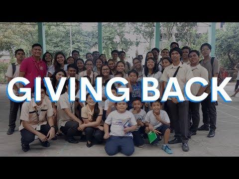 Giving Back This Christmas - Labangon Bliss Elementary School 2018!