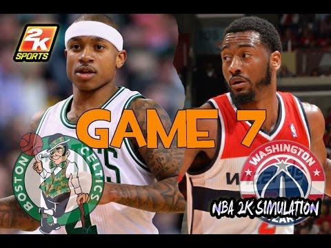 Washington Wizards vs Boston Celtics - Game 7 - Full game | May 15, 2017 | NBA 2K17