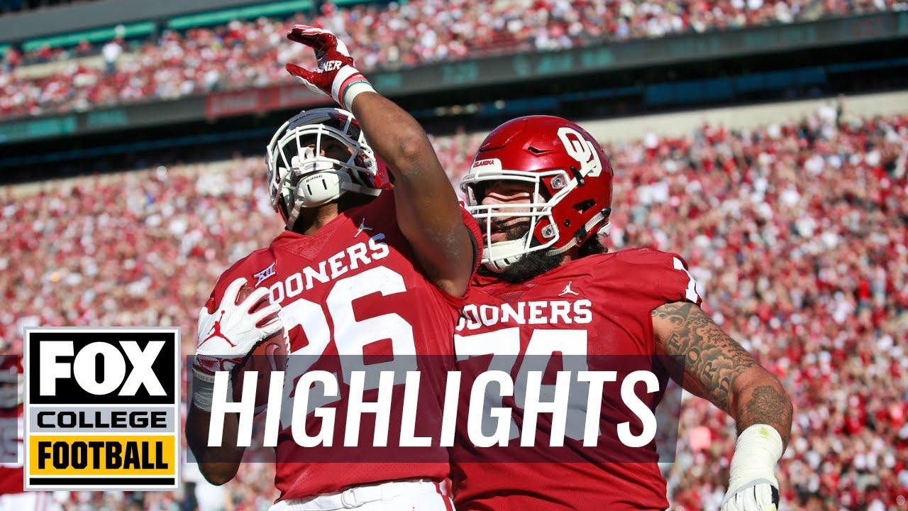 Oklahoma vs. Kansas State | FOX COLLEGE FOOTBALL HIGHLIGHTS - YouTube