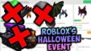 ROBLOX 2018 Halloween Event...