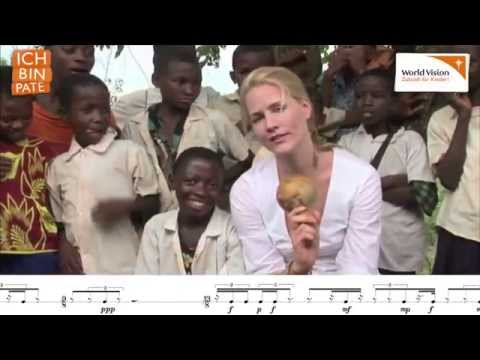 Judith Rakers - Slightly African for Wasembe-Rattle - Virtuoso!!! - Hot Cleavage!!!!!