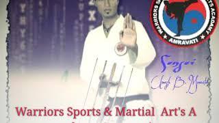 Intro Warriors sports & martial arts academy amravati Maharashtra
