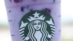 HOW TO MAKE A STARBUCKS PURPLE DRINK | STARBUCKS VIOLET DRINK