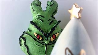 How the Grinch Stole Christmas Cake Pop