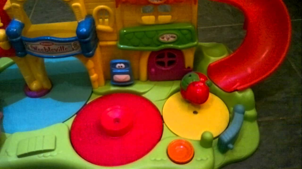 Playskool Weebles Musical Treehouse Part - 48: Playskool : Weebles Weebleville Town - YouTube