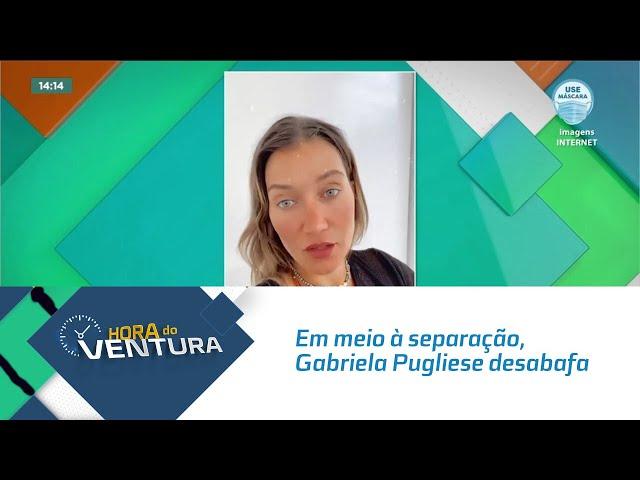 Em meio à separação, Gabriela Pugliese desabafa sobre noite mal dormida