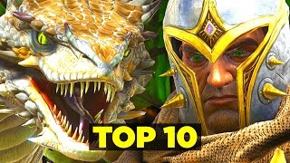 MY TOP 10 FAVORITE THINGS - Ark: Scorched Earth (Ark: Survival Evolved)
