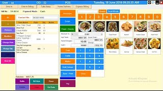 This restaurant pos software is best system that helps you to run an efficient kitchen and provide better service your customers...
