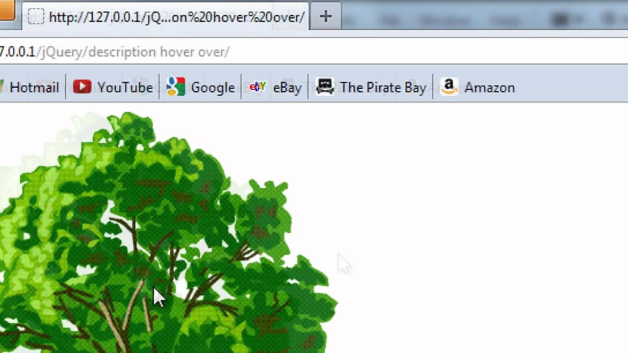 JavaScript: Description Of Image Follows Mouse
