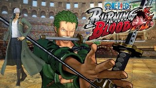 ONE PIECE BURNING BLOOD - Zoro, Kuzan (Aokiji), X Drake, Franky Gameplay Screenshots & News