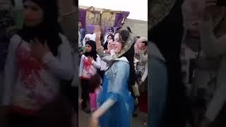 Beautiful Arabic girl dance in UAE