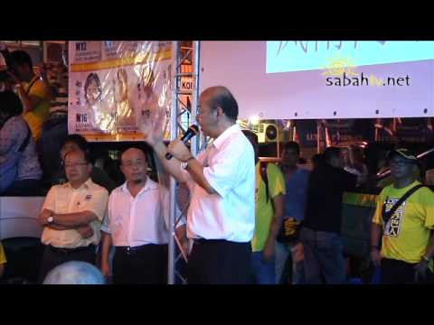 Why Yong Teck Lee walk in to DAP open ceramah @ Foh Sang Ceramah 01 05 2013