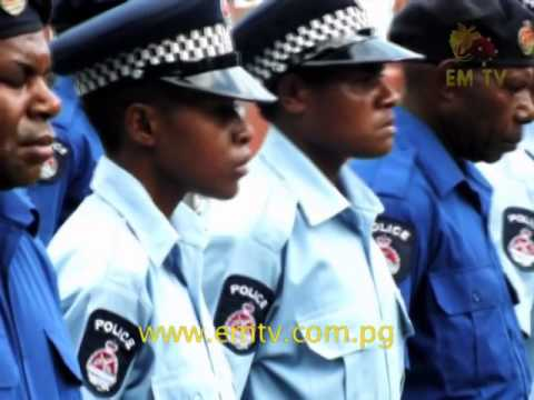 Five Policemen in Wewak Behind Bars