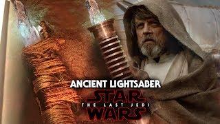 Star Wars The Last Jedi Ancient Lightsaber & Luke Skywalker