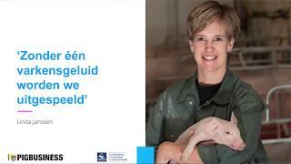 Linda Janssen pleit voor één varkensgeluid