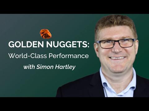 A World-Class performance with Simon Hartley