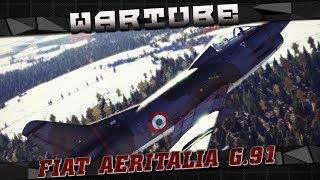 Aeritalia FIAT G.91R/1 ПОБЕДИТЕЛЬ ИЛИ СТРАДАЛЕЦ? | War Thunder