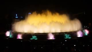 Поющий фонтан в Барселоне(, 2014-11-07T05:34:03.000Z)