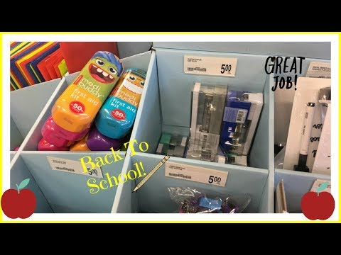 Back To School Shopping At Office Depot! 2017