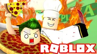 YOU WON'T BELIEVE WHAT I FOUND IN MY PIZZA!! THE GROSS ROBLOX PIZZERIA!