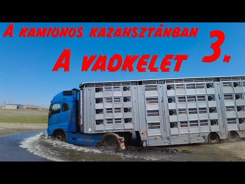 A kamionos Kazahsztánban 3.rész. A vadkelet