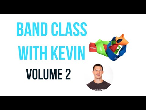 Band Workout With Kevin #2