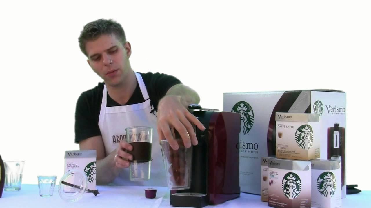 Verismo Coffee Maker Not Working : Starbucks Verismo - Iced Coffee - YouTube