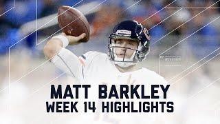 Matt Barkley's 212-Yard, 1 TD Day! | Bears vs. Lions | NFL Week 14 Player Highlights