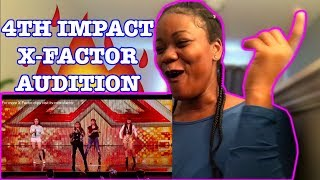 4th Power raise the roof with Jessie J hit | Auditions The X Factor UK 2015 REACTION! - Stafaband