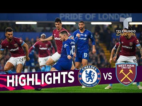 Chelsea vs. West Ham: 2-0 Goals & Highlights | Premier League | Telemundo Deportes