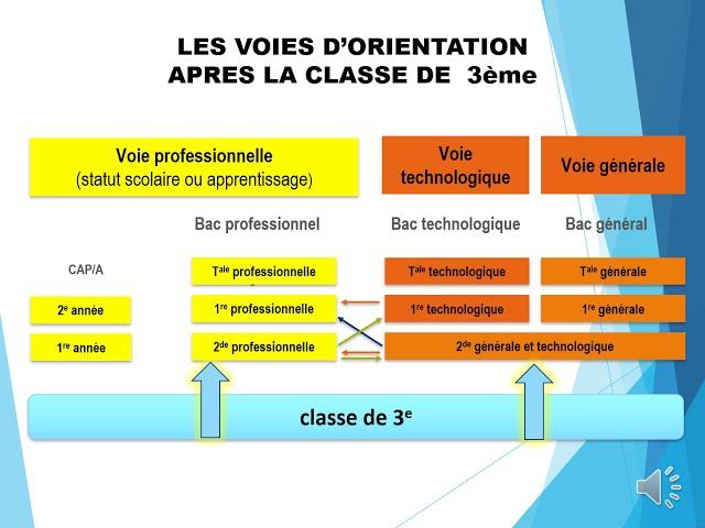 Diaporama sonorisé Orientation après la 3ème CIO des Landes