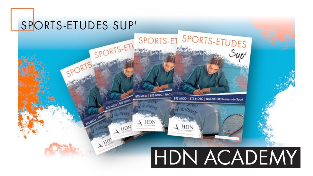 Les études supérieures en format sports-études: c'est à la HDN Academy !