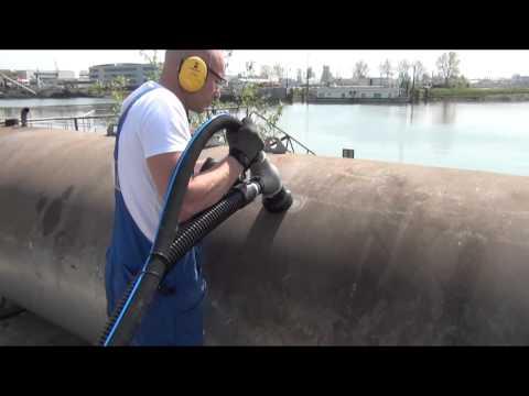 LTC 1060 Vacuum blasting