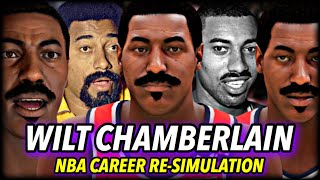 WILT CHAMBERLAIN'S NBA CAREER RE-SIMULATION ON NBA 2K21 NEXT GEN | MOST DOMINANT EVER?