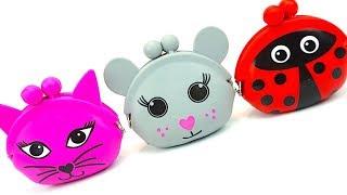Сюрпризы и игрушки для детей  Распаковываем сюрпризы и ищем игрушки с супер героями  Игрушкин ТВ