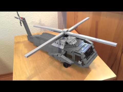 """Lego Moc """"Sikorsky UH 60 Black Hawk"""""""