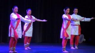 Kathak Tukda + Tihai + Ladi - TFA Navarathri 2014
