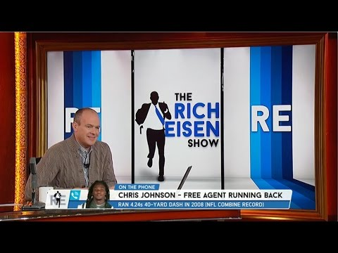Running Back Chris Johnson Calls in to The RES - 2/16/15