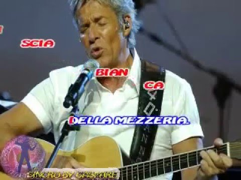 Claudio Baglioni - Via (vers. live) (karaoke fair use)