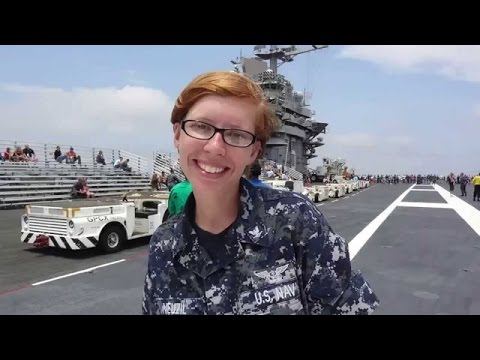 Aircraft Carrier USS Harry Truman Homecoming | Military
