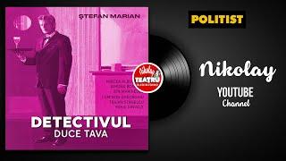 Detectivul duce tava de Stefan Marian 1991 Mircea Albulescu,Simona Bondoc TEATRU RADIOFONI POLITIST