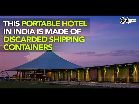 This Smart Traveller's Hotel In Gujarat Is Made Entirely Of Shipping Containers | Curly Tales
