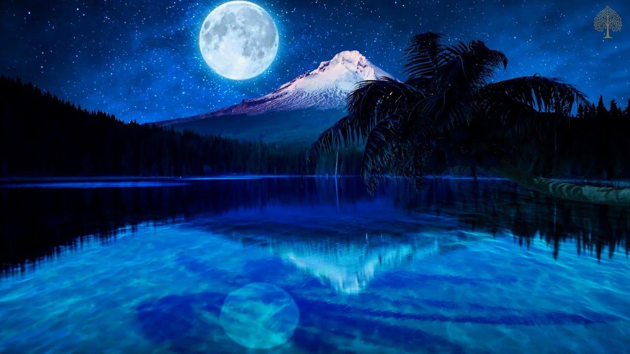 Calma La Mente Con La Luz De La Luna • Recuperación de Energía, Meditación, Musica para Dormir